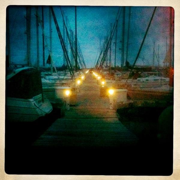 Bayfield Docks at Night